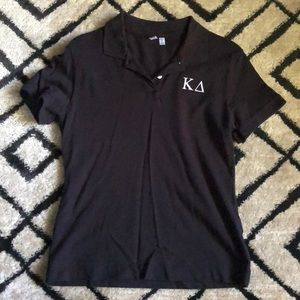Tops - Kappa Delta Embroidered Polo